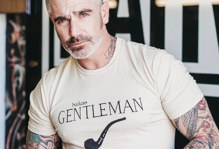 Badass Gentleman Statement Tee by Sheehan