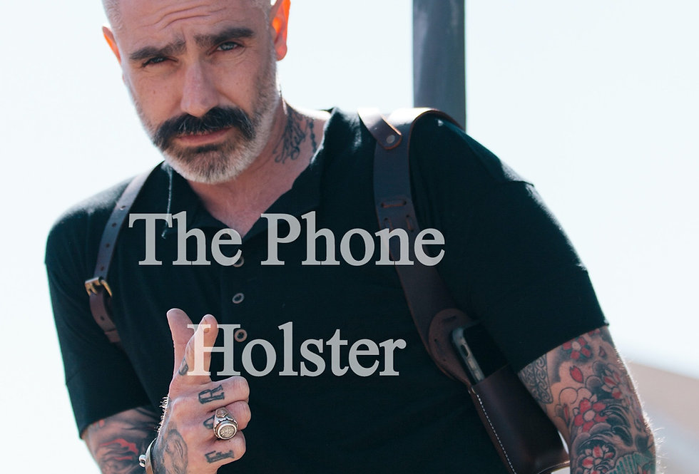 Leather Cell Phone Holster By Sheehan