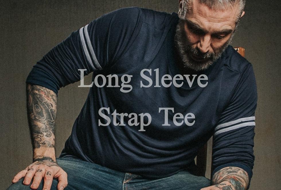 Strap Long Sleeve  Basic Tee by Sheehan