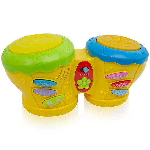 Toddlers Musical Little Pat Drummer Multiple Songs And Drum Along