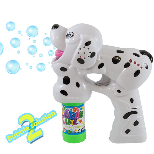 Assorted Colors Kidsthrill Dog Bubble Shooter