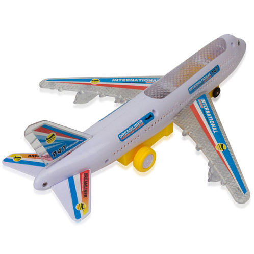 design these bump and go airplane is a beautiful designed airbus that will attract your young kids it looks like as if in real which this is perfect for