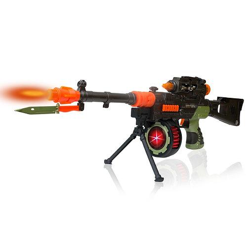 Military Machine Combat Toy Gun 27 Inches