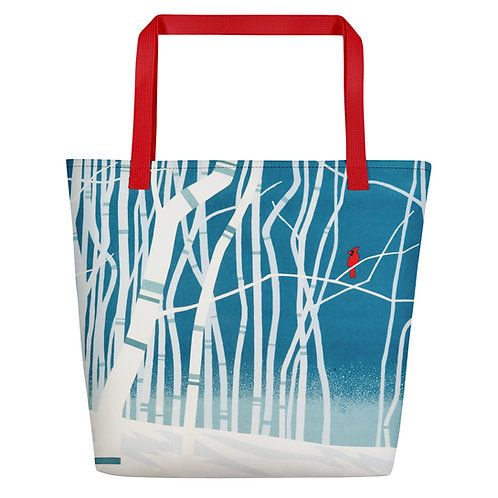 Touch of Color Beach Bag