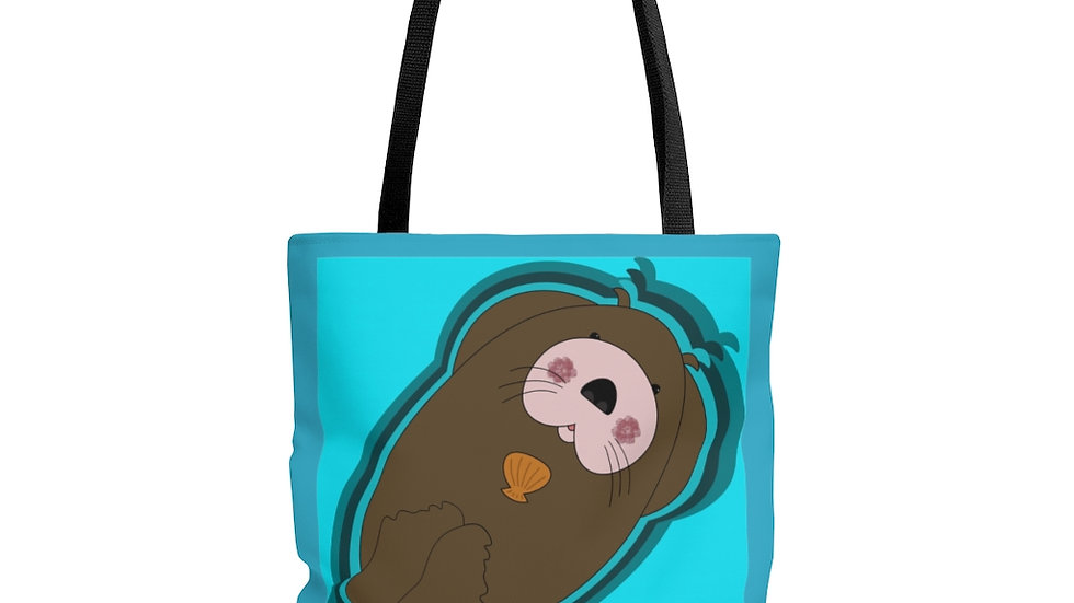 Otter Be Some Fun by Amy Matsumoto Tote Bag