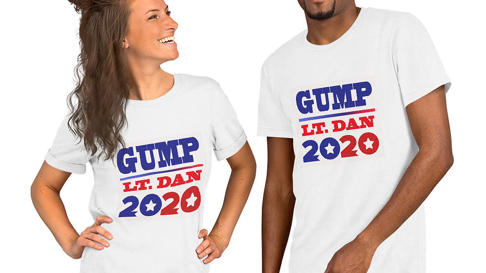 GUMP/LT DAN 2020 Short-Sleeve Unisex T-Shirt