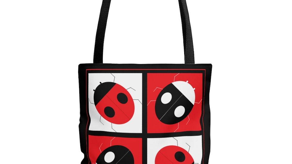 Checkers by Amy Matsumoto AOP Tote Bag