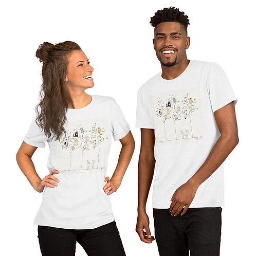 Cat Trees Short-Sleeve Unisex T-Shirt