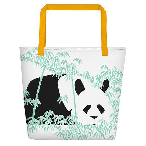 Panda Beach Bag