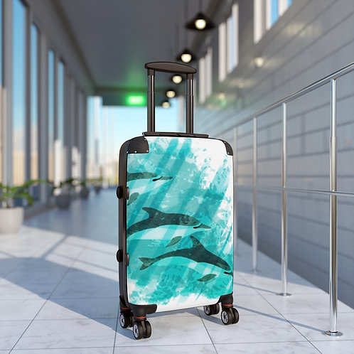 Dancing Dolphins Cabin Suitcase