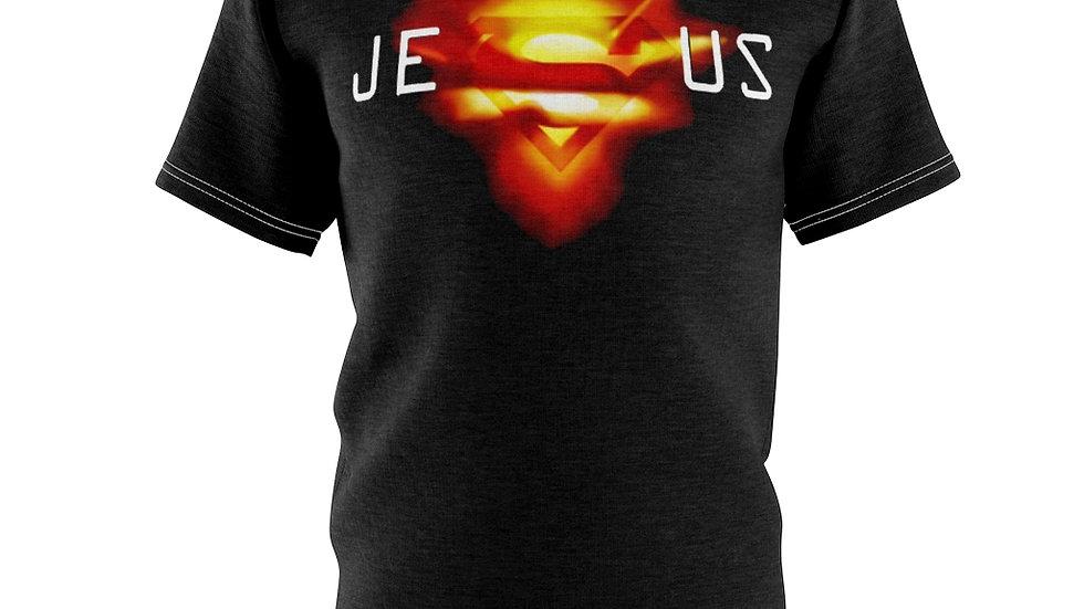 Super Jesus Unisex AOP Cut & Sew Tee
