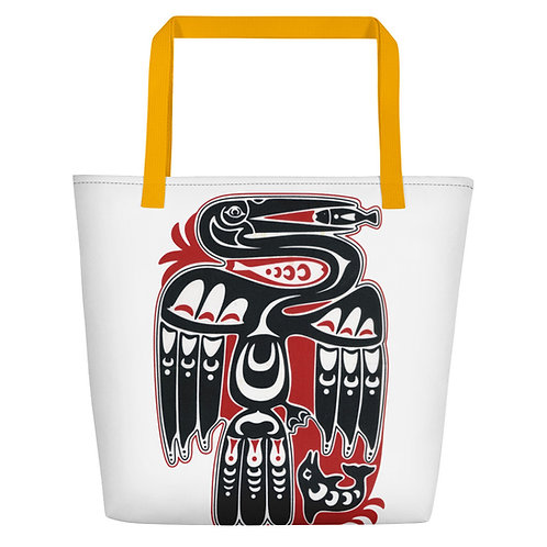 Tribal Anhinga Beach Bag
