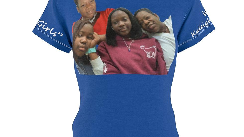 Gina's Girls 3 Women's AOP Cut & Sew Tee