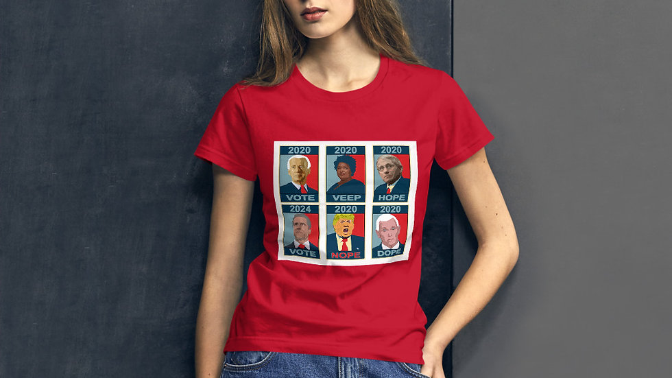 VOTE 2020 Design by Jan Clark Women's short sleeve t-shirt