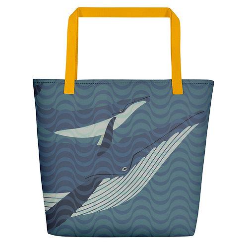 Deep Sea Ballet Beach Bag