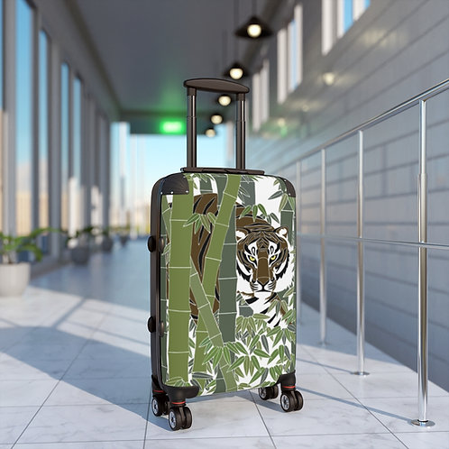 Bamboo Tiger Cabin Suitcase