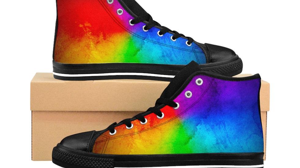Rainbow Women's High-top Sneakers