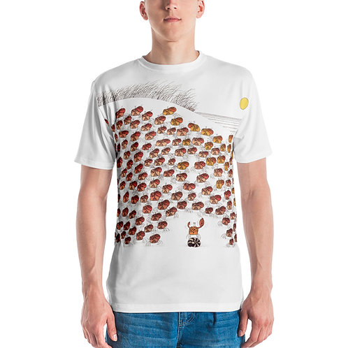 Arthur Fiddler and the Beach Pops Men's T-shirt