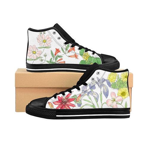 Florida Wild Flowers Women's High-top Sneakers