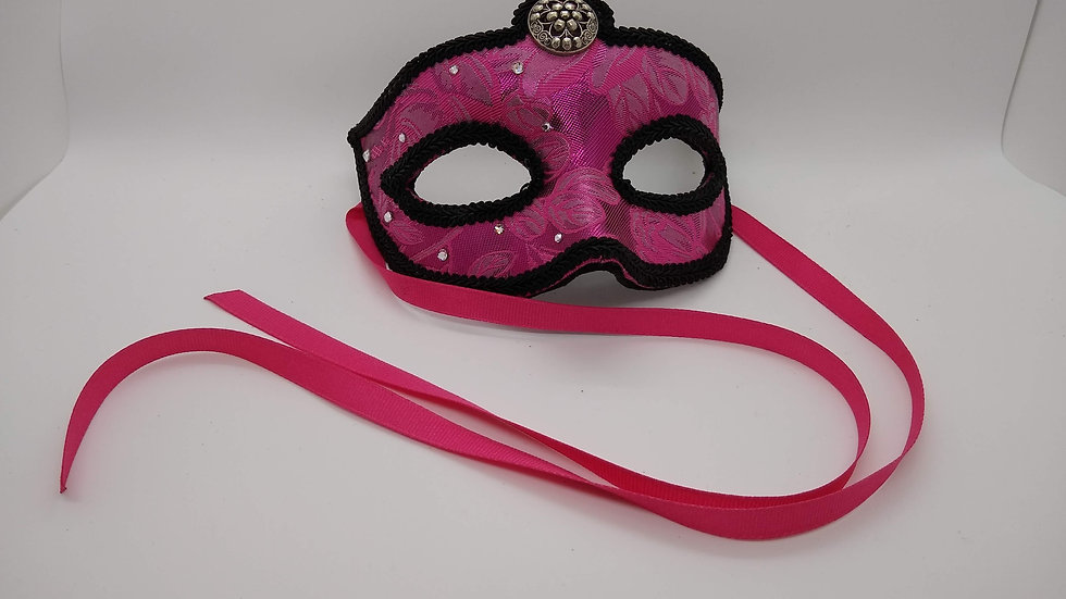 Masquerade Mask with Swarovski Crystals