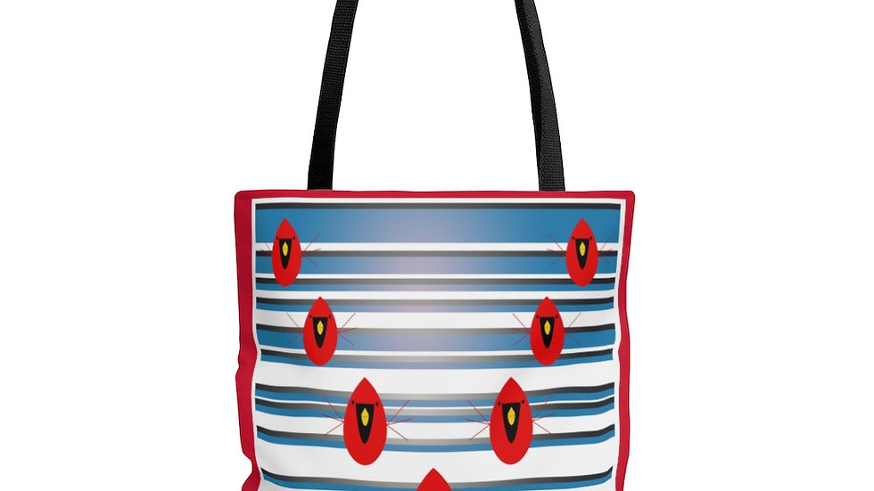 Cardinal Formation by Amy Matsumoto Tote Bag