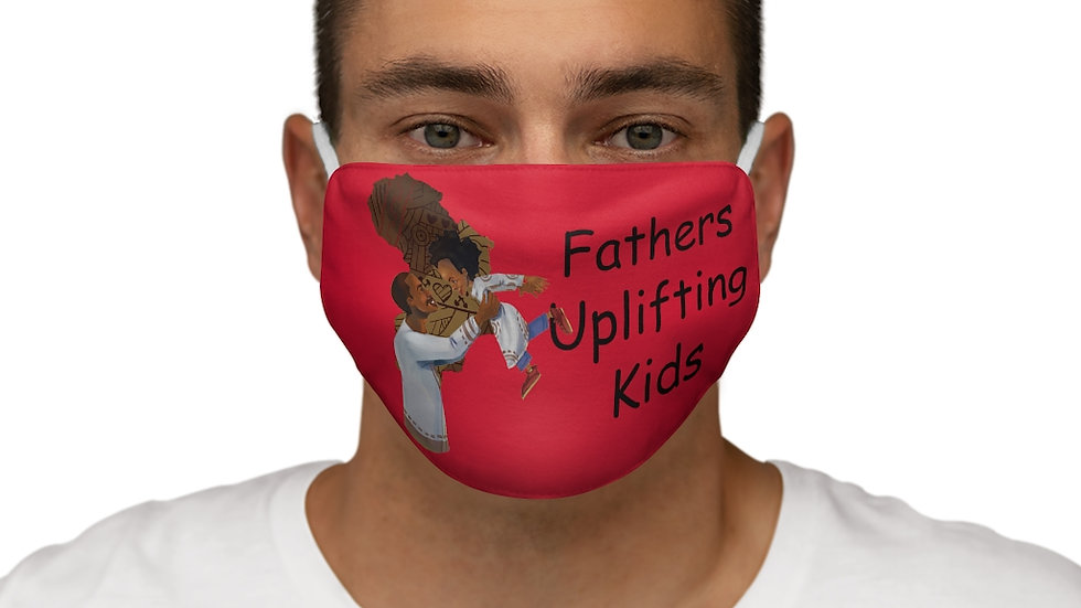 Fathers uplifting Kids Snug-Fit Polyester Face Mask
