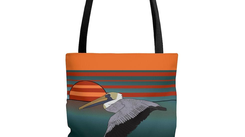 Skimming on Tarpon Bay by Amy Matsumoto Tote Bag