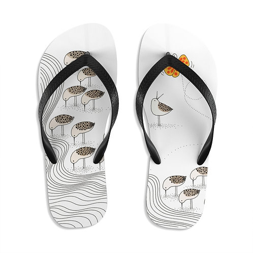 You Can't Survive on Seashells Alone Unisex Flip-Flops