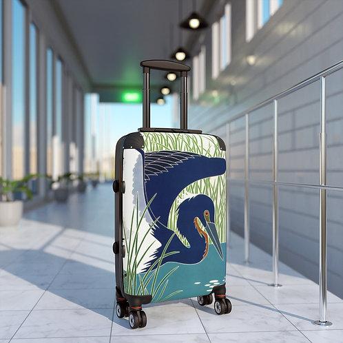 Louisiana Heron Cabin Suitcase