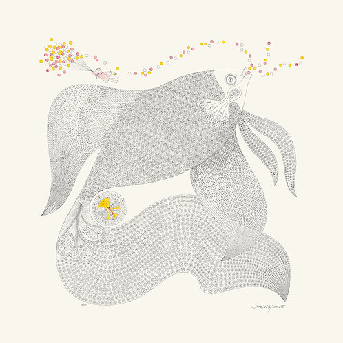 Fish - Series In Grey