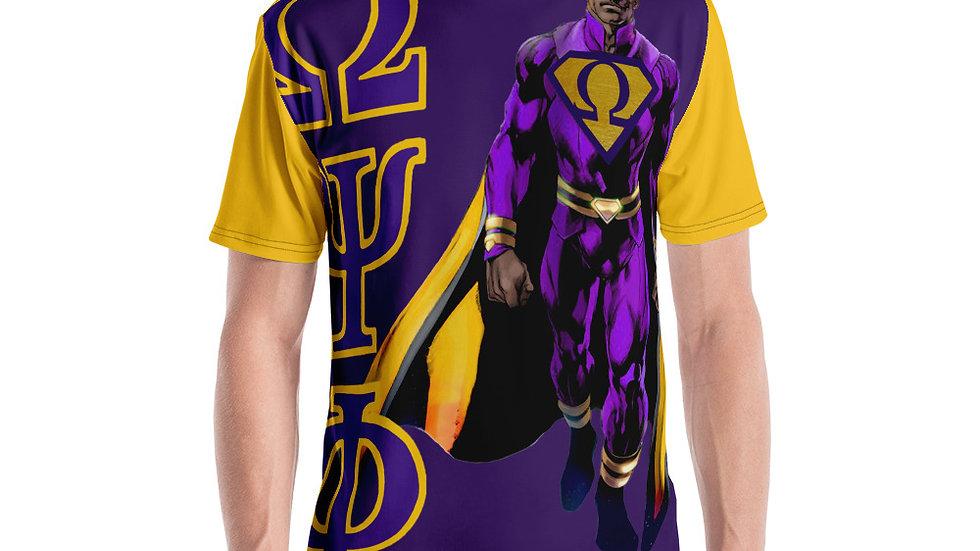 Omega Psi Phi Man Men's T-shirt
