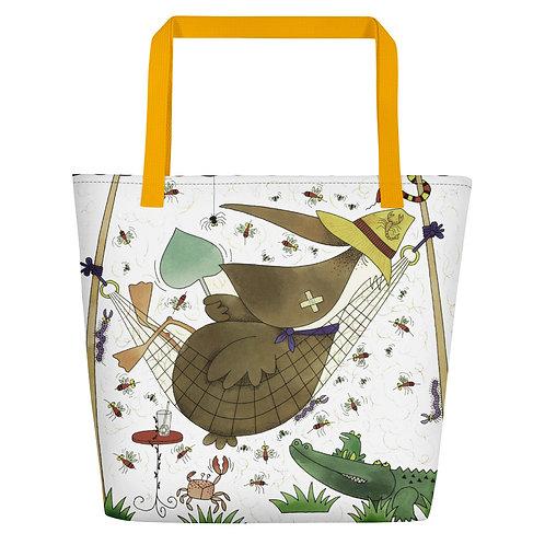 Ah, Tropical Paradise Beach Bag