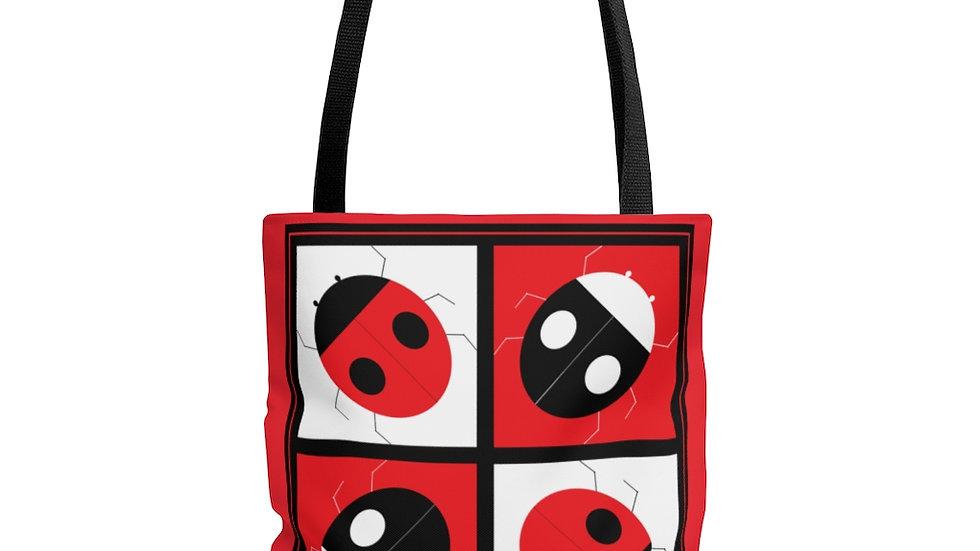 Checkers by Amy Matsumoto Tote Bag