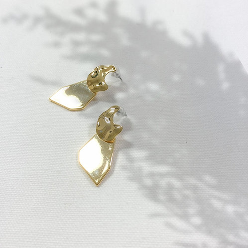 "Earring ""Pure Gold"""