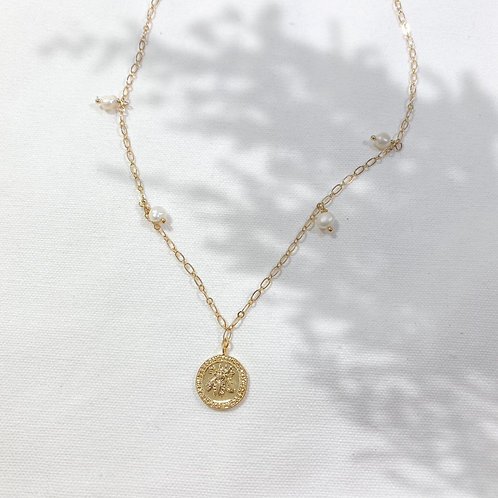 "Necklace ""Coin"""
