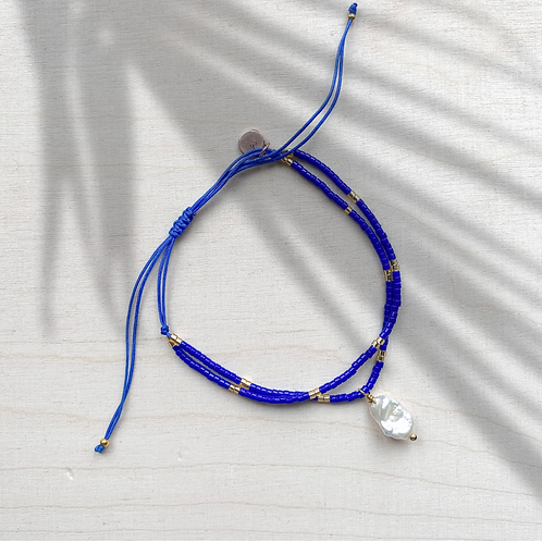 blue Summer Bracelet