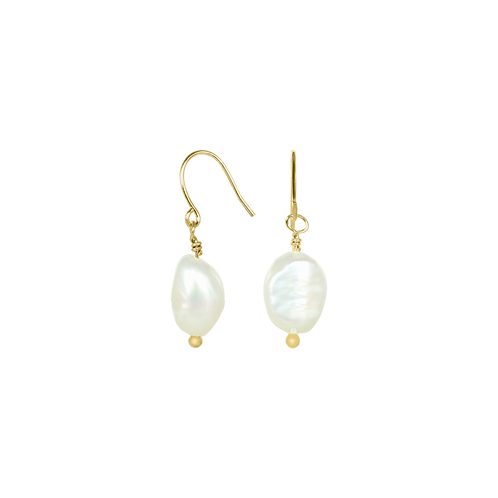Classic Pearl Earring gold
