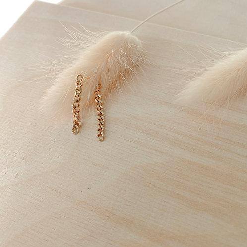 Chain Earring gold