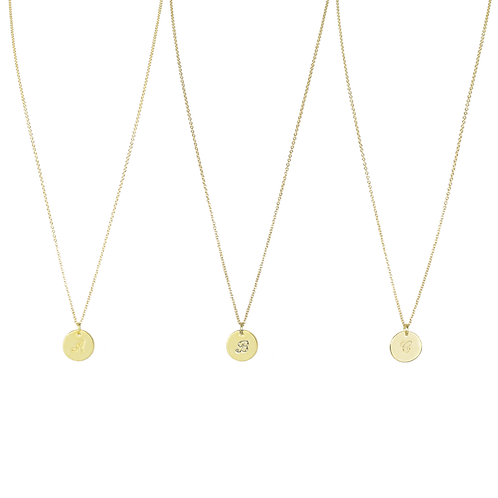 MY STORY – MY LETTER / LETTER – NECKLACE gold