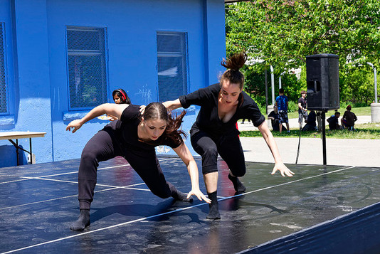 The Chimera Project Dance Students