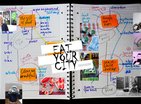 eat your city - a street and food art approach