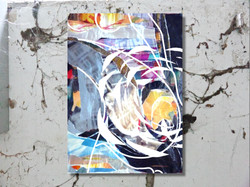 Sonnebrand II vor Wand