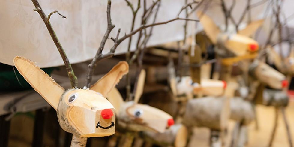 November Craft & Gift Fair + Reindeer (1)