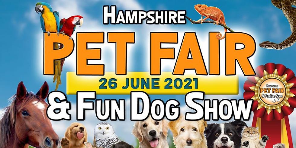 Hampshire Pet Fair & Fun Dog Show 2021 - Visitor Tickets