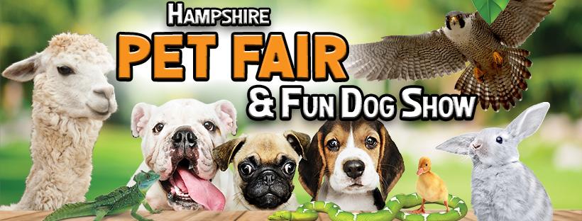Hampshire Pet Fair & Fun Dog Show - Sponsorship
