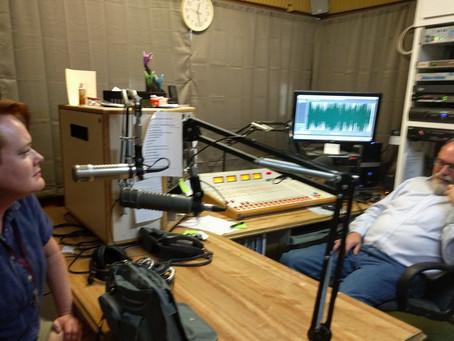 Radio interview.