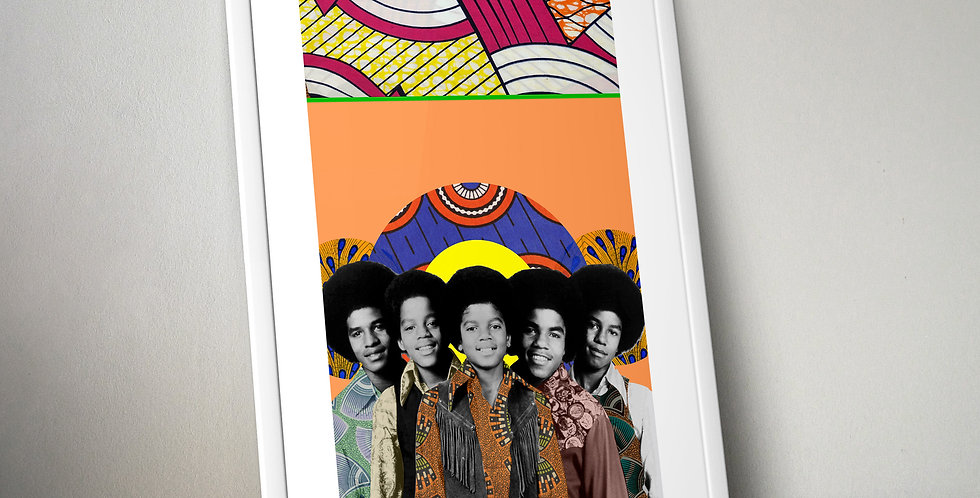 The Jackson Five Limited Edition Print