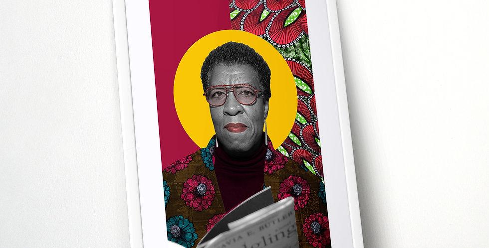 Octavia Butler Limited Edition Print