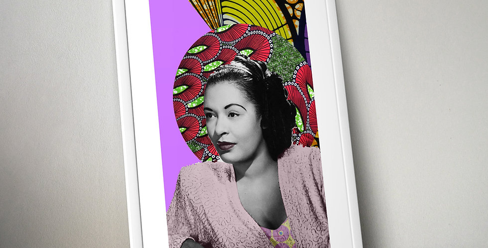 Billie Holiday Limited Edition Print