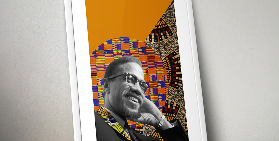 Malcolm X Limited Edition Print